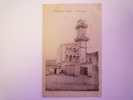 2021 - 355  ALGERIE  -  TENIET-el-HAAD  :  La MOSQUEE  XXX - Autres Villes