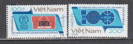 Vietnam 1989 - (1)100 Years Of The Inter-Parliamentary Union (IPU), Mi-Nr. 2005/06, Used - Vietnam