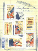 """France 2016  BF 5098 Neuf    """" LES PLUMES D'ECRITURE """" - Ungebraucht"""
