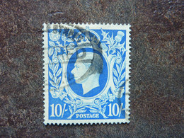 1939/1948   KING GEORGES VI   10s  SG = 478 Used - Usati