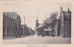 1854150Egmond Aan Zee, Voorstraat (Hotel Café Met Pension ''De Vegulde Valk'' (zie Hoeken En Randen) - Egmond Aan Zee