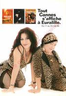 Carte Publicité Pour  TOUT CANNES S'AFFICHE à EURALILLE . 1998 . - Pubblicitari