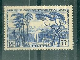 GUINEE - N° 136** MNH SCAN DU VERSO - Les Laobis, Artisans Du Bois. - Nuovi