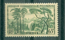 GUINEE - N° 137* MNH SCAN DU VERSO Trace De Charnière - Nuovi