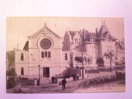 2021 - 384  BIARRITZ  :  Le Temple Israélite Et La Villa Claisse   1907  XXX - Biarritz