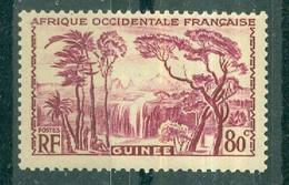 GUINEE - N° 138** MNH SCAN DU VERSO - Nuovi
