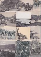 Sri Lanka Ceylan Ceylon Lot De 13 Cartes Postales Anciennes Vintage Picture Postcards Colombo Kandy Elephant - Sri Lanka (Ceylon)