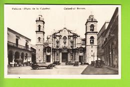 CUBA : Habana, Plaza De La Catédral, La Havane Place De La Cathédrale, Cathedral Square. 2 Scans. - Autres