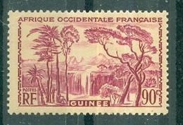 GUINEE - N° 162** MNH SCAN DU VERSO - Types De 1938. - Nuovi