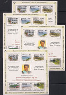 Tonga  2012 Yvertn° 4 X 1280-1285 *** MNH Cote 220 Euro First Anniversary Republic  Touristic Views - Tonga (1970-...)