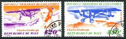 Mali 1977 Crossing North Atlantic 50 Years Traversée Atlantique Charles Lindbergh RYAN NYP Spirit Of St Louis - Aerei