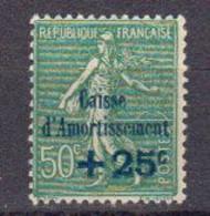 France Au Profit De La Caisse D'Amortissement 1927. Yvert 247 ** Neuf Sans Charniere - Caisse D'Amortissement