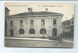 DEUX CPA LUXEUIL LES BAINS - LA POSTE - LES ORGUES - Luxeuil Les Bains