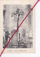 CP 62   -   RIVIERE   -  Christ De L'église    1916 - Other Municipalities