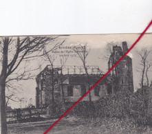 CP 62   -   RIVIERE   - Ruines De L'église Bombardée   (20 Juin 1915) - Other Municipalities