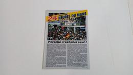 Coupure De Presse Automobile De 1986-24 Heures Du Mans-Porsche N'est Plus Seul ! - Sport