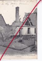 CP 62   -   RIVIERE    - GUERRE DE 1914 -   Ruines De Maison Bombardée à Bellacourt - Altri Comuni