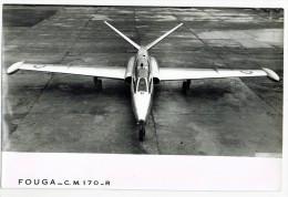AVION   -  FOUGA  CM 170 -  PHOTO 18 X 24 Cm. - Aviación