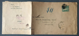 USA, Enveloppe Pour La France De Augusta, Michigan, Pli D'archive - (B3675) - Covers & Documents