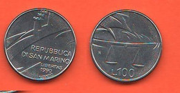 San Marino 100 Lire 1990 Saint Marin - Saint-Marin