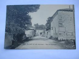 SAINT FORT Sur LE NE - Rue De Segonzac - TBE - Otros Municipios