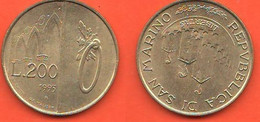 San Marino 200 Lire 1993 Saint Marin - Saint-Marin