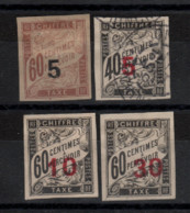 Chine _  Timbres Taxe - (1905 ) N° 1/ 4 Non Dentelé - Unclassified
