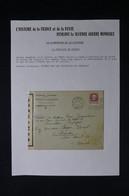 FRANCE - Enveloppe Commerciale De Paris Pour St Lo Le 8/7/1944 Avec Contrôle Postal ( Bataille De Normandie ) - L 85129 - WW II