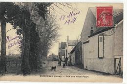 CPA   ESCRENNES  Rue Des Hauts - Fours - Sonstige Gemeinden