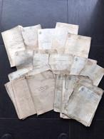 08 Ardennes - Mouvion Sur Meuse - Archives De 1806 à 1860 - Manuscripts