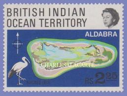 BRITISH INDIAN OCEAN TERRITORY 1969  S.G. 31  CORAL ATOL ALDABRA IBIS  U.M. - Sonstige
