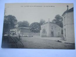 SAINT FORT SUR LE NE - Un Coin Du Bourg - La Pharmacie - TBE - Otros Municipios