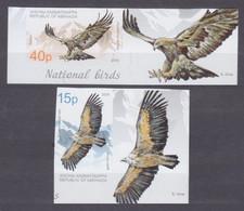 2019Abkhazia Republic 1004-1005bTabBirds Of Prey15,00 € - Eagles & Birds Of Prey