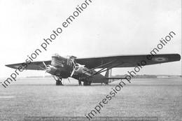 PHOTO AVION  RETIRAGE REPRINT  FARMAN 222 - Aviation