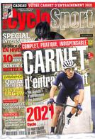 CYCLOSPORT MAGAZINE 142 SPECIAL INTERSAISON + UN CARNET D'ENTRAINEMENT 2021 - Sport