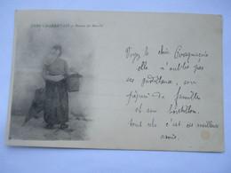 COGNAC - Type Charentais - Retour De Marché - Voir Et Lire Les 2 Scans  - Voyagé En 1901 - Cognac
