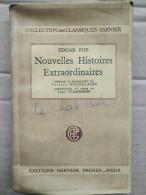 Edgar Allan Poe - Nouvelles Histoires Extraordinaires / Classiques Garnier, 1947 - 1901-1940