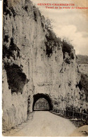 21 Cote D Or Gevrey Chambertin Tunnel De La Route De Chambeu CPA 1826 1907 Janin Paris Histoire Patrimoine Tombola - Gevrey Chambertin