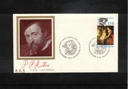 Vatican / Vatikan 1977 Painter Peter Paul Rubens FDC - Rubens
