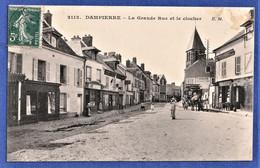 CPA 78 DAMPIERRE - La Grande Rue Et Le Clocher - Dampierre En Yvelines