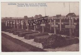 Oostende (tombes Des Marins Du Vindictive) - Oostende