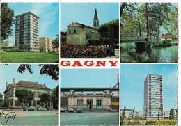GAGNY - Vues - Voiture - Gagny