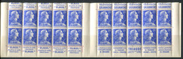 FRANCE - CARNET N° 1011B-C 7 - S 1-58 * * - COMPLET & LUXE - Usados Corriente