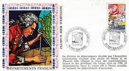 FDC 1990 CREATION DES DEPARTEMENTS - Sin Clasificación