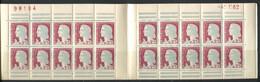 FRANCE - CARNET N° 1263-C 3 - S 2-62 * * - CD LE 4/1/1962 -  COMPLET & LUXE - Definitives