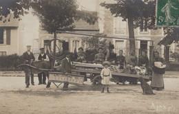 CPA - SELECTION - CORBEIL - CARTE PHOTO - Marchand Ambulant Edition: AJAX Ph ( Carte Rare) - Corbeil Essonnes