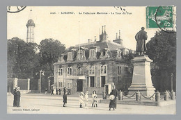 LORIENT  (cpa 56)  La Préfecture Maritime, La Tour Du Port      -  L 1 - Lorient