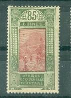 GUINEE - N° 97* MH SCAN DU VERSO - Dentelés 13,5 X 14. - Nuovi