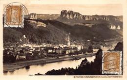 Deutschland Sudeten Dampfer Bad Schandau Schweiz  Johannes Weisheit Hohnstein Globus M 6298 - Sudeten
