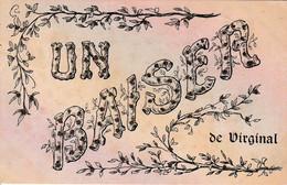 Un Baiser De Virginal Carte à Paillettes 1906  Taxée 2x5C - Ittre